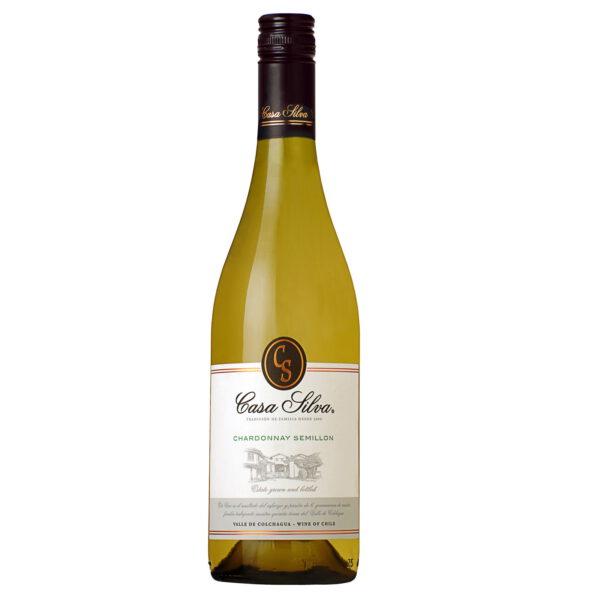 Casa-Silva-Chardonnay-Semillon bestellen bij Unik wijnhuis en slijterij